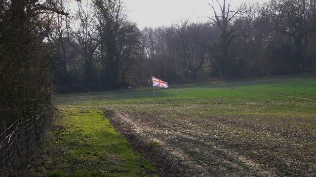 Large field near Salmonsbridge Farm