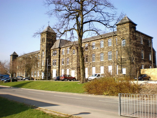 Former Burnley Union Workhouse