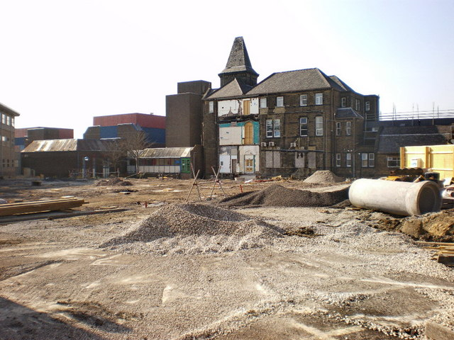 Redeveloping Burnley Hospital
