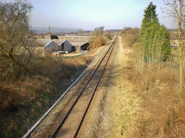 Preston to Colne Railway