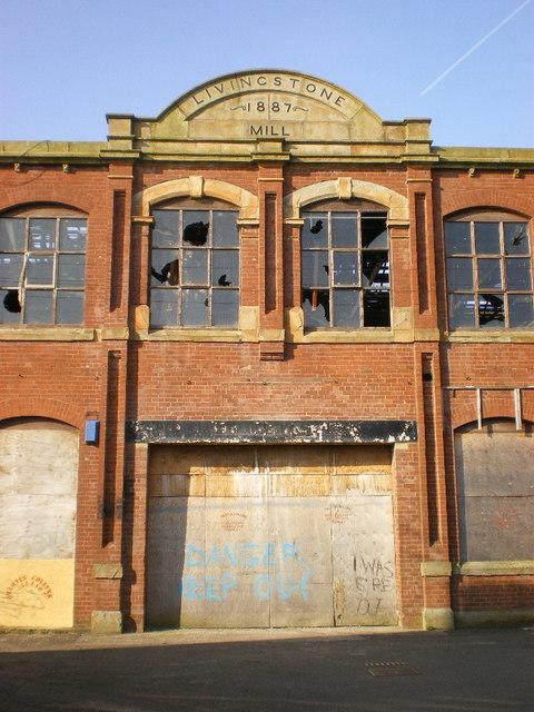 Livingstone Mill, Entrance