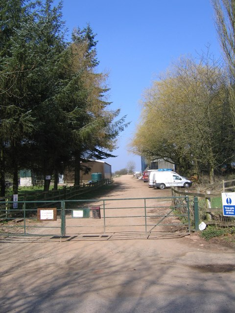Brookhouse Farm Entrance, Frankley.