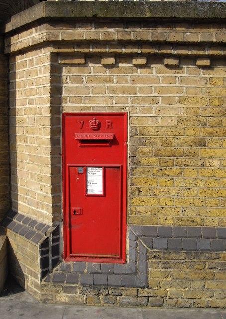 Victorian Wall Post Box