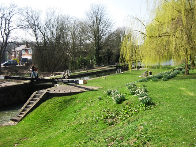 Grand Union Canal: Berkhamsted Top Lock No 53