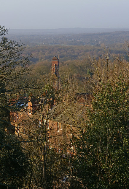 St John's School from Redhill Common