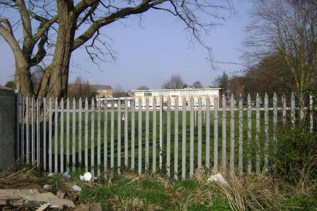 Security fence, All Saints Junior School, Warwick