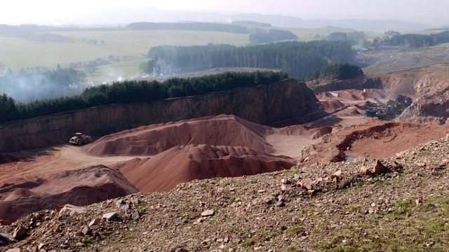 Harden Quarry, Biddlestone