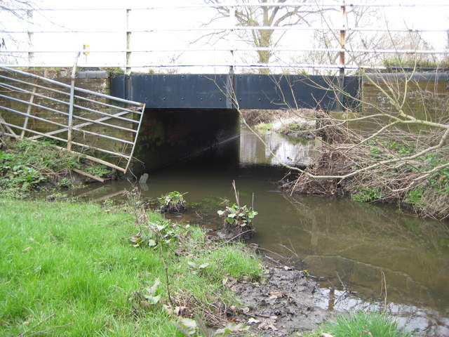The Cut at Brockhill Bridge