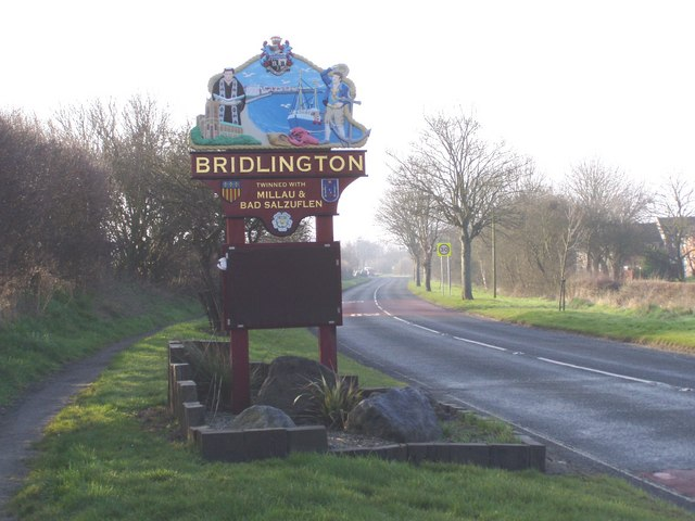 Entering Bridlington