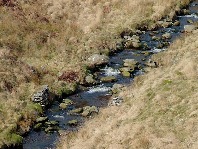 Former bridleway crossing, Afon Doethie Fawr, Ceredigion