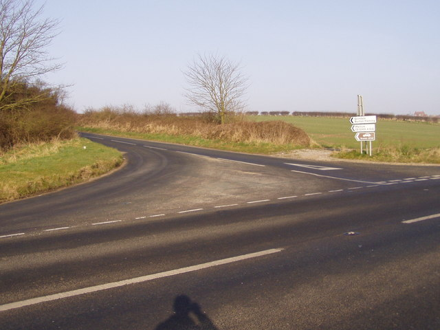 Grindale Lane Junction With A165