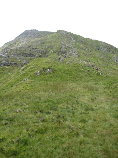 Eastern ridge of Moel Siabod