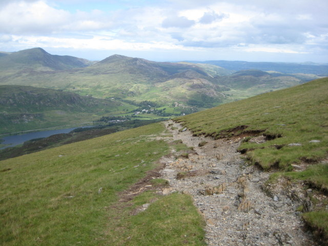 Down to Capel Curig