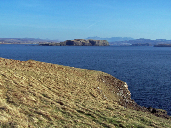 Looking south east from Harlosh Point