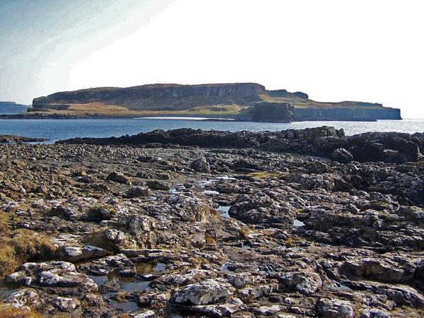 Harlosh Island from Harlosh Point