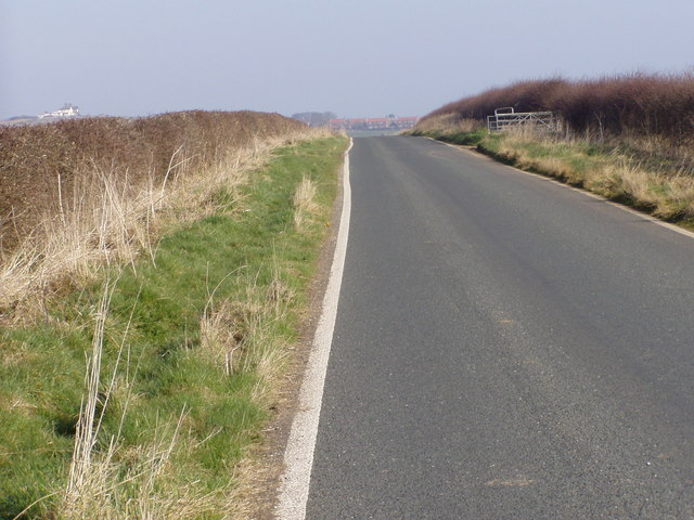 New Road Towards Speeton Village