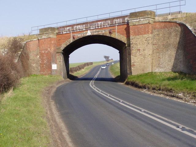 Railway Bridge Over the A165