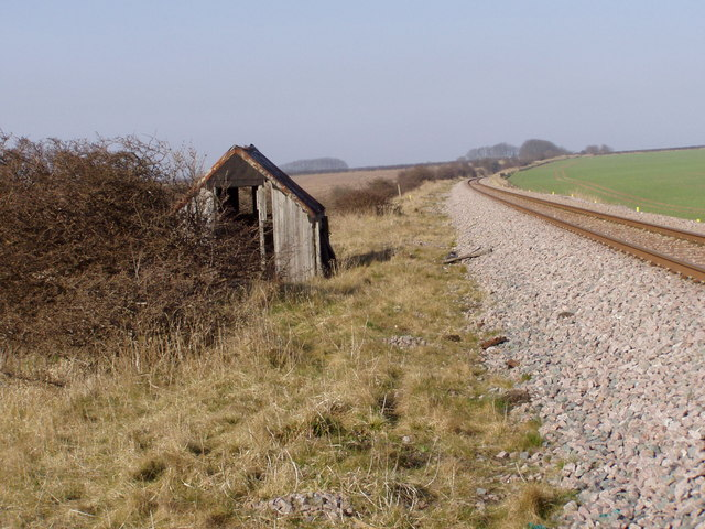 Ruined Railway Building