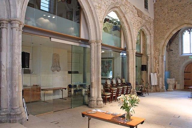 St Ethelburga, Bishopsgate, London EC2 - Interior