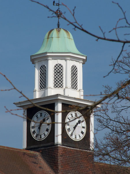 Letchworth town hall clock