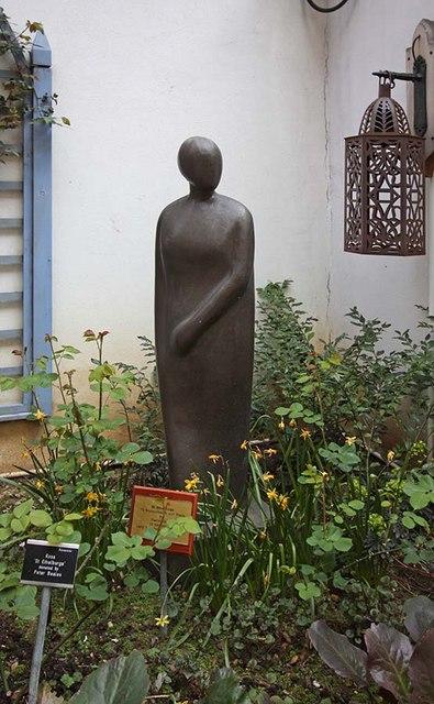 St Ethelburga, Bishopsgate, London EC2 - Sculpture in Memorial Garden