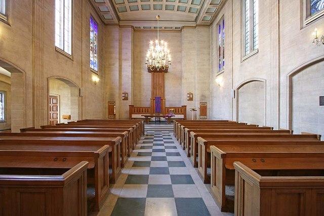 The Dutch Church, Austin Friars, London EC2 - East end