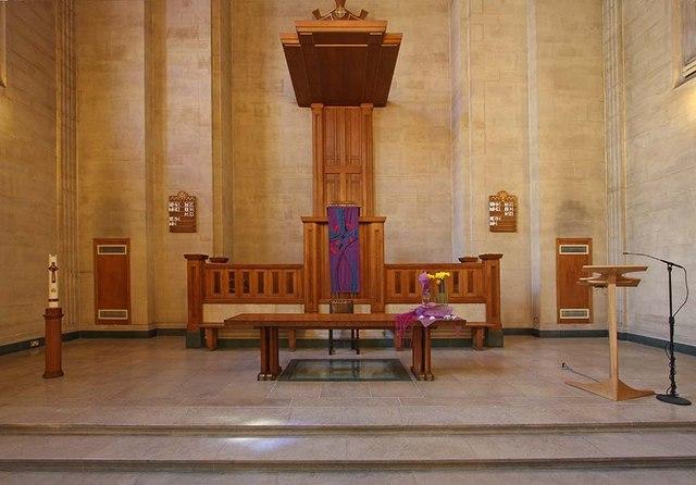 The Dutch Church, Austin Friars, London EC2 - Chancel