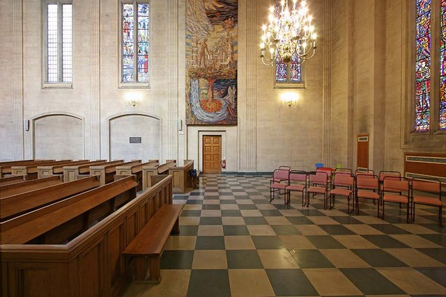 The Dutch Church, Austin Friars, London EC2 - Interior