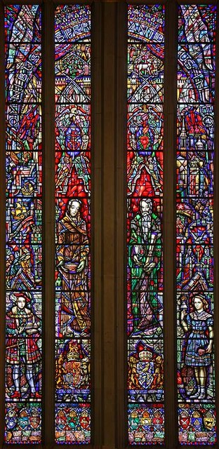 The Dutch Church, Austin Friars, London EC2 - West window