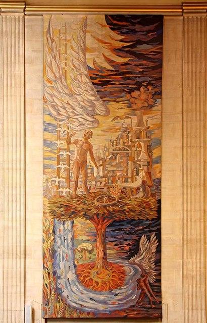 The Dutch Church, Austin Friars, London EC2 - Tapestry