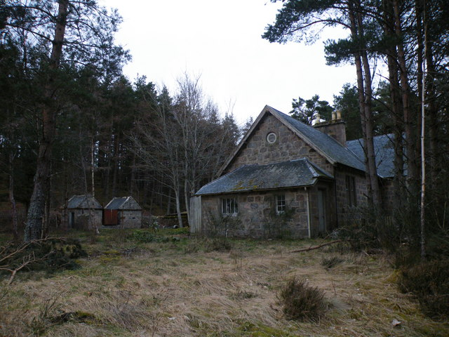 Old School building and Toilets at Bruachmary