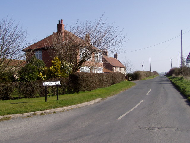 Houses on Bolam Lane