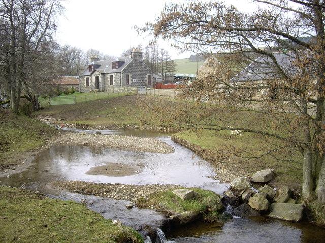 Upstream Burn of Edinglassie