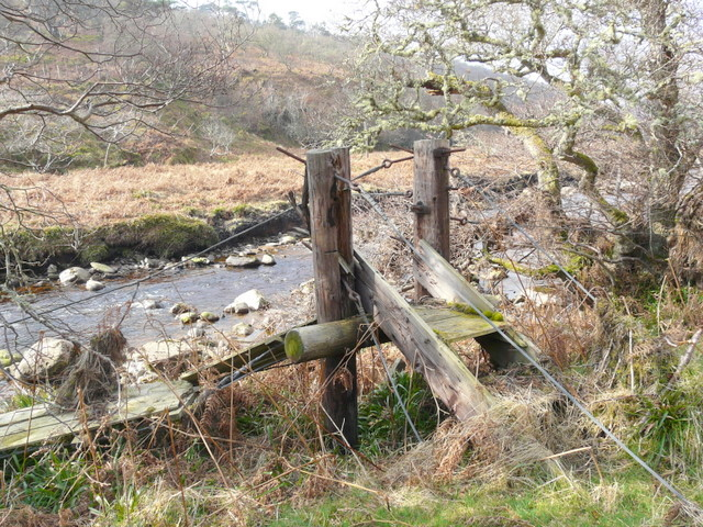 Bridge to nowhere - a casualty of the winter floods.