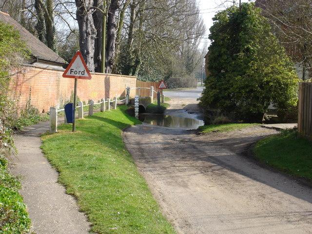 Ford on Woodbridge Road, Grundisburgh