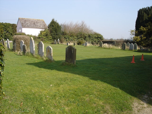 Churchyard by Grundisburgh baptist church
