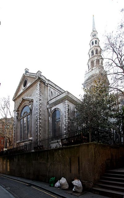 St Bride, Fleet Street, London EC4