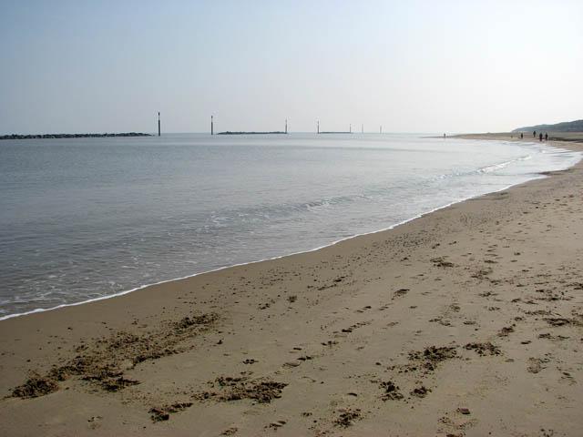 Sea defences at Sea Palling