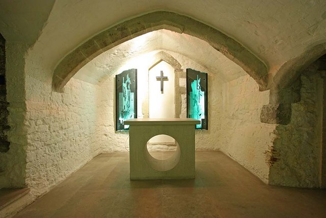 St Bride, Fleet Street, London EC4 - Crypt Chapel