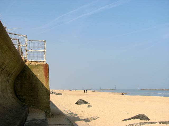 Sea defences - old and new