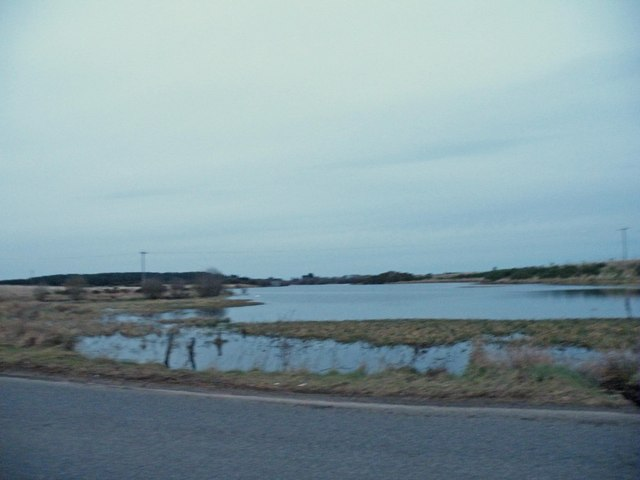 Loch Flemington from B9090
