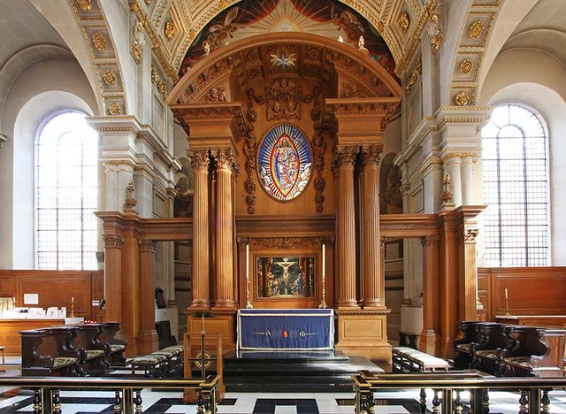 St Bride, Fleet Street, London EC4 - Sanctuary
