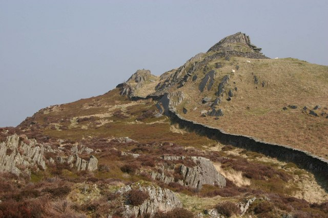 Summit of Foel Fawr