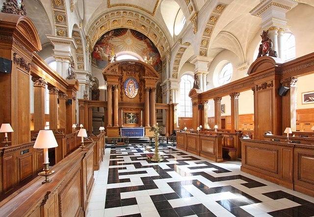 St Bride, Fleet Street, London EC4 - East end