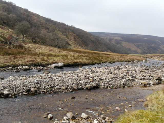 The Rinsary Brae section of Berriedale.