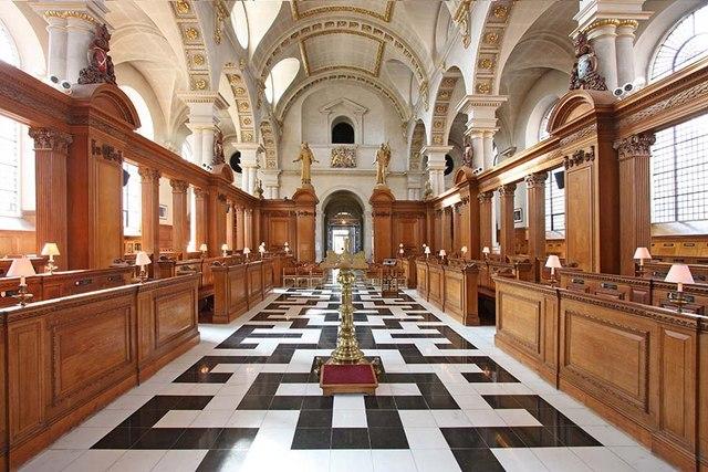 St Bride, Fleet Street, London EC4 - West end