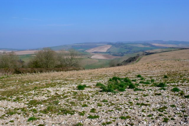 View down Rake Bottom
