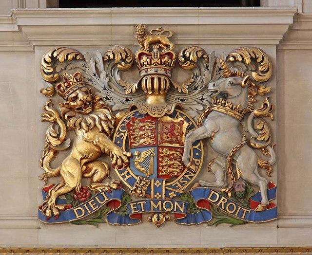 St Bride, Fleet Street, London EC4 - Royal Arms