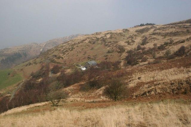 Hillside above Cymerau