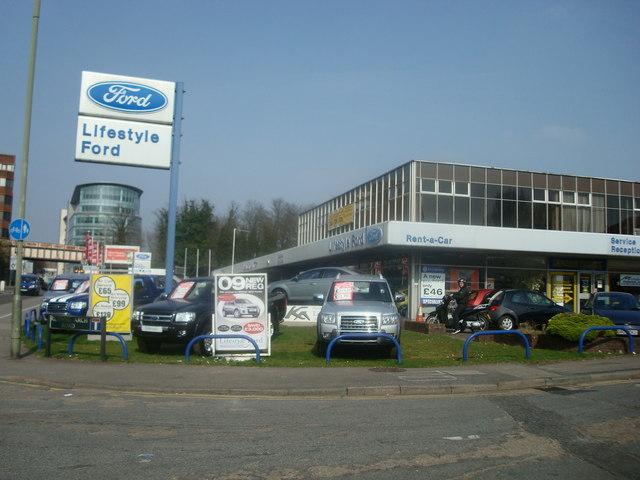 Car Dealer, Brighton Road, Redhill, Surrey